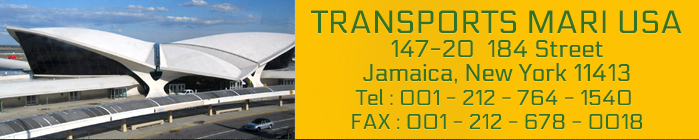 TRANSPORTS MARI USA / JFK Airport